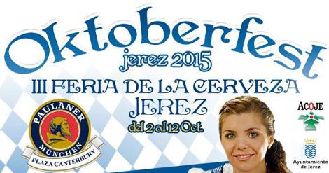 III Feria de la Cerveza Jerez de la Frontera, Oktoberfest 2015