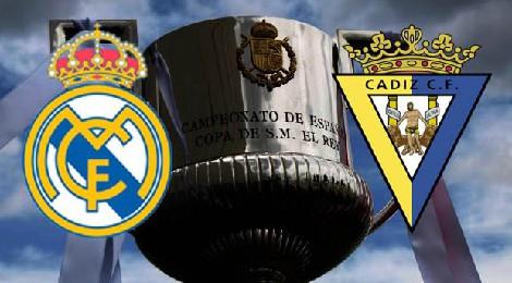 Retransmisión Cadiz CF - Real Madrid Copa del Rey
