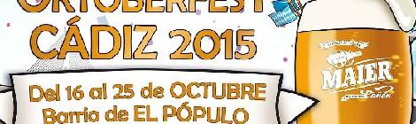 Oktoberfest barrio del Pópulo, Cádiz 2015