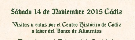 II Día Patrimonio Solidario Cádiz 2015