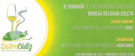 Gastrocadiz 2015 Sanlúcar de Barrameda