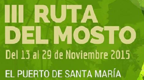 III Ruta Mosto El Puerto de Santa María