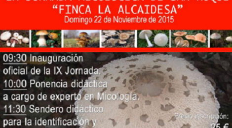 IX Jornada Micológica San Roque 2015