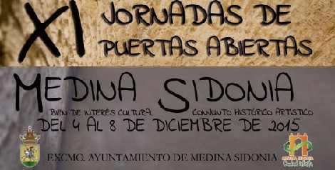 XI Jornadas Puertas Abiertas Medina Sidonia