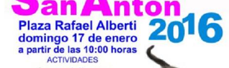 Fiesta San Antón Puerto Real 2016
