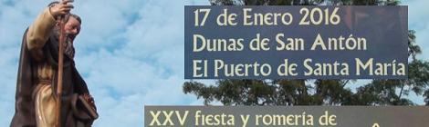 XXV Romería San Antón 2016 El Puerto de Santa María