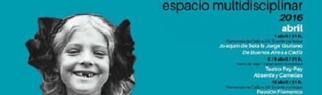 Programación Sala Central Lechera de Cádiz Primavera 2016