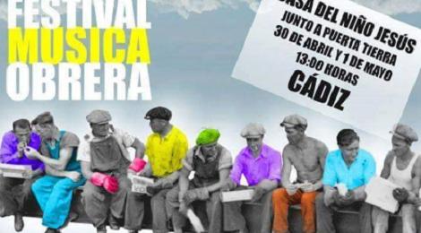 Festival música obrera Cádiz 2016