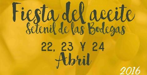 Fiesta del aceite Setenil de las Bodegas 2016