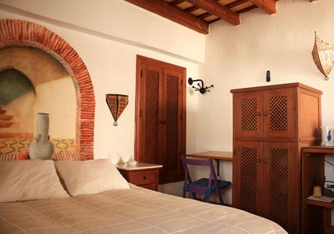 Habitación_Casa_Rural_El_Cobijo_Vejer