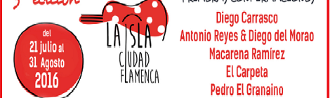 Festival La Isla Ciudad Flamenca 2016