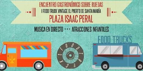 I Food Truck Vintage El Puerto de Santa María 2016