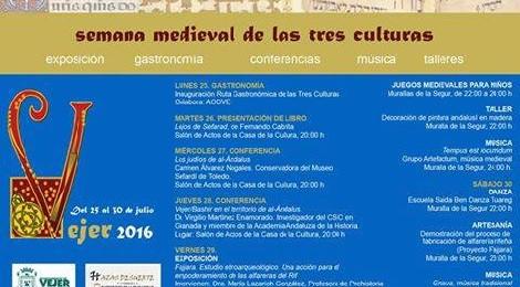 Semana Medieval Tres Culturas Vejer de la Frontera 2016
