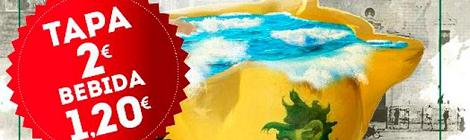 XII Feria de gastronomía de la Bahía 2016. Ruta de la Tapa de San Fernando 2016