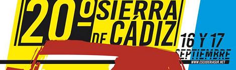XX Rallye Sierra de Cádiz 2016