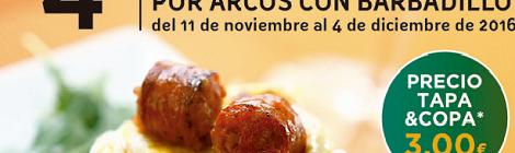 IV Ruta de vinos y tapas por Arcos 2016