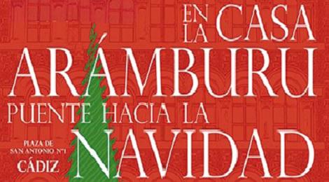 """Mercadillo """"Puente hacia la Navidad″ en la casa Aramburu 2018"""