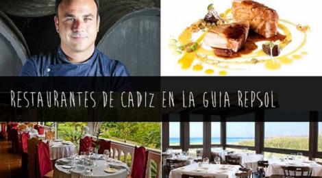 13 Restaurantes de Cádiz en Guía Repsol 2017