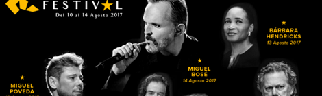 IV Tío Pepe Festival 2017: Conciertos de Miguel Poveda y Miguel Bosé