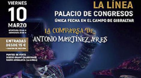Concierto Martínez Ares; Antología Pirata y la Comparsa La Eternidad en La Línea 2017