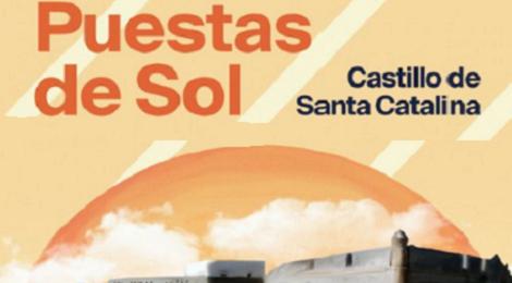 Puestas de Sol del Castillo de Santa Catalina de Cádiz: Programación