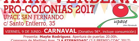 XXIII Verbena Pro-Colonias de UPACE San Fernando 2017: Fecha y programación