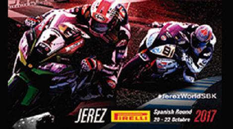 Campeonato del mundo de Superbike circuito de Jerez 2017