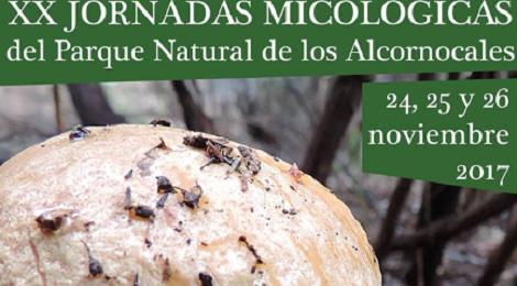 XX Jornadas Micológicas en el Parque Natural de Los Alcornocales 2017