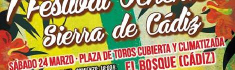 I Festival Ochentero Sierra de Cádiz 2018