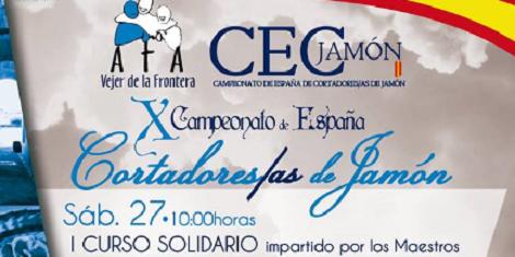 X Campeonato de España de Cortadores de Jamón Vejer de la Frontera 2018