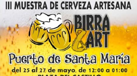 III Muestra de Cerveza Artesana El Puerto de Santa María 2018