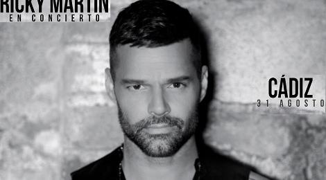 Concierto de Ricky Martin en Cádiz 2018: Fecha y Venta de Entradas