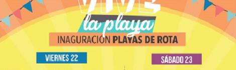 Fiesta de inauguración de la temporada de playas Rota 2018