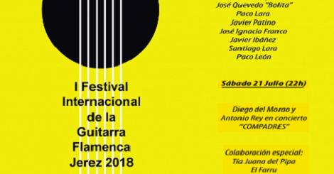 I Festival Internacional de la Guitarra Flamenca Jerez 2018