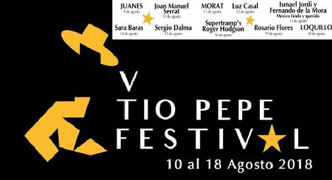 V Tío Pepe Festival Jerez 2018