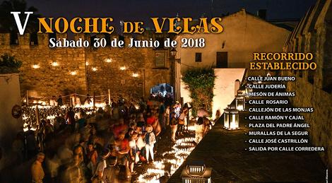 V Noche de Velas Vejer de la Frontera 2018