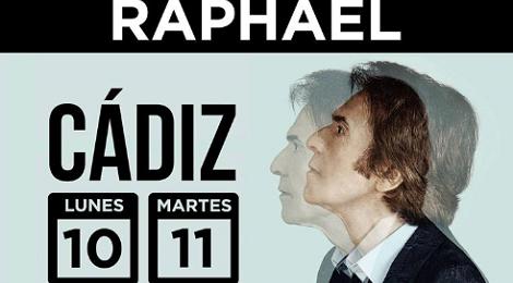 Concierto Raphael Cádiz 2018