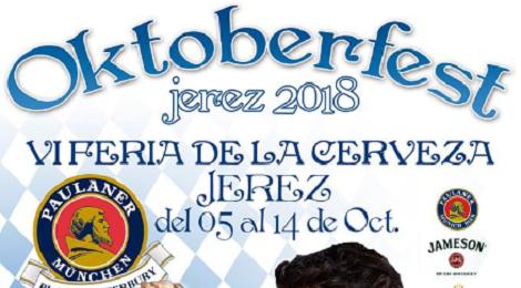 VI Feria de la Cerveza de Jerez 2018, OktoberfestJerez: Programación