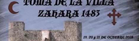V Recreación histórica Toma de la Villa de Zahara 2018: Fecha y Programación